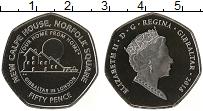 Изображение Монеты Гибралтар 50 пенсов 2018 Медно-никель UNC