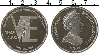 Изображение Монеты Тристан-да-Кунья 1 крона 2005 Серебро Proof-