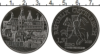 Изображение Монеты Австрия 1 1/2 евро 2019 Серебро UNC