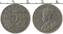 Изображение Монеты Канада 5 центов 1934 Медно-никель XF Георг V