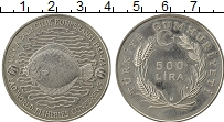 Изображение Монеты Турция 500 лир 1984 Медно-никель UNC- ФАО