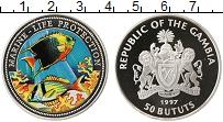 Продать Монеты Гамбия 50 бутут 1997 Серебро