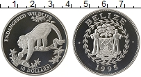 Продать Монеты Белиз 10 долларов 1995 Серебро