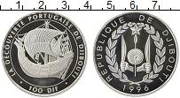 Продать Монеты Джибути 100 франков 1996 Серебро