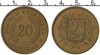 Изображение Монеты Финляндия 20 марок 1938 Латунь XF