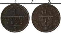 Изображение Монеты Пруссия 1 пфенниг 1873 Медь XF С
