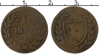 Изображение Монеты Франкфурт 1 пфенниг 1819 Медь VF