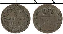 Изображение Монеты Бавария 3 крейцера 1849 Серебро VF