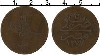 Изображение Монеты Египет 10 пар 1864 Медь VF