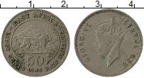 Изображение Монеты Восточная Африка 50 центов 1948 Медно-никель XF Георг VI