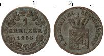 Изображение Монеты Бавария 1 крейцер 1858 Серебро XF-