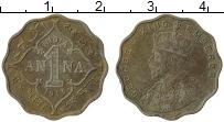 Изображение Монеты Индия 1 анна 1913 Медно-никель VF Георг V