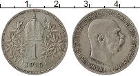 Изображение Монеты Австрия 1 крона 1915 Серебро VF