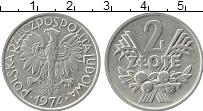 Изображение Монеты Польша 2 злотых 1974 Алюминий XF+