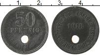 Изображение Монеты Германия : Нотгельды 50 пфеннигов 1918 Цинк XF- Остбург