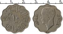 Изображение Монеты Ирак 10 филс 1938 Медно-никель XF Гази I
