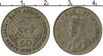 Изображение Монеты Восточная Африка 50 центов 1922 Серебро XF Георг V