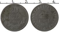 Изображение Монеты Венгрия 20 филлеров 1916 Железо XF-