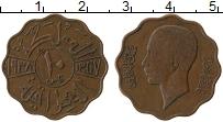 Изображение Монеты Ирак 10 филс 1938 Бронза XF Гази I