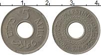 Продать Монеты Палестина 5 милс 1941 Медно-никель