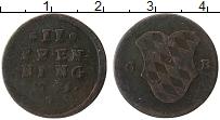 Изображение Монеты Бавария 2 пфеннига 1795 Медь VF
