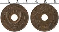 Продать Монеты Восточная Африка 10 центов 1945 Медь