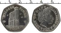 Изображение Монеты Остров Мэн 50 пенсов 2007 Медно-никель UNC- Башня Милнера
