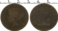 Изображение Монеты Либерия 2 цента 1906 Медь VF