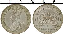 Изображение Монеты Восточная Африка 1 шиллинг 1922 Серебро XF