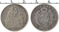 Изображение Монеты Перу 1/5 соля 1907 Серебро XF