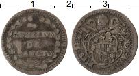 Изображение Монеты Ватикан 1 гроссо 1788 Серебро VF Пий VI
