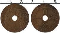 Изображение Монеты Индокитай 1 цент 1930 Бронза XF Протекторат  Франции