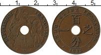 Изображение Монеты Индокитай 1 цент 1923 Бронза XF Протекторат  Франции