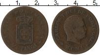 Изображение Монеты Португальская Индия 1/4 таньга 1901 Бронза VF Карлуш I