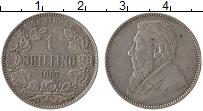 Изображение Монеты ЮАР 1 шиллинг 1897 Серебро XF