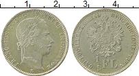 Изображение Монеты Европа Австрия 1/4 флорина 1860 Серебро XF