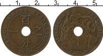 Изображение Монеты Индокитай 1 цент 1910 Медь XF Французский