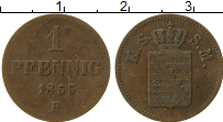 Изображение Монеты Саксе-Мейнинген 1 пфенниг 1855 Медь VF