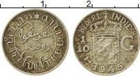 Изображение Монеты Нидерландская Индия 1/10 гульдена 1945 Серебро VF