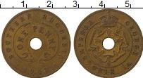 Изображение Монеты Родезия 1 пенни 1942 Бронза VF