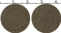 Изображение Монеты Нассау 1 крейцер 1852 Медь VF