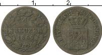 Изображение Монеты Бавария 1 крейцер 1869 Серебро VF