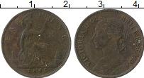 Изображение Монеты Великобритания 1 фартинг 1885 Бронза VF Виктория
