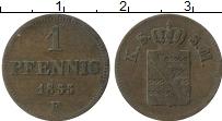 Изображение Монеты Саксе-Мейнинген 1 пфенниг 1855 Медь VF F