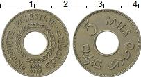 Изображение Монеты Палестина 5 милс 1935 Медно-никель XF-