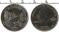 Изображение Мелочь США 1/4 доллара 2019 Медно-никель UNC 50-й парк Айдахо, Ре