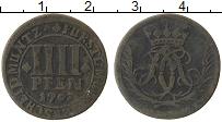 Изображение Монеты Мюнстер 4 пфеннига 1703 Медь VF