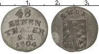 Продать Монеты Саксен-Веймар-Эйзенах 1/48 талера 1804 Серебро