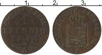 Изображение Монеты Саксен-Веймар-Эйзенах 1 пфенниг 1844 Медь VF А