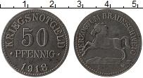 Изображение Монеты Германия : Нотгельды 50 пфеннигов 1918 Железо XF Брауншвайг